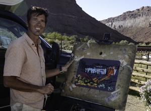 Plein Air Moab 2013